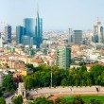 Panorama of Milan — Stock Photo #21315337