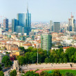 Stock Photo: Panoramof Milan