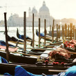 Stock Photo: Venetigondolas