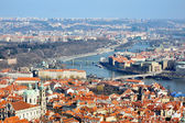 View of Prague from the Castle, Hradcany — Stock Photo