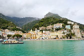 Beautiful view of Cetara, Amalfi Coast, Italy — Stock Photo