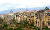 Old medieval buildings in Sant'Agata near Naples — Stock Photo