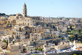 Matera ancient city panoramic view, Italy — Stock Photo