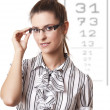 Stock Photo: At Optician