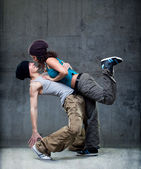 Couple de danse passion. — Photo