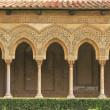 Stock Photo: Monreale cloister