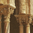 Monreale cloister - Stock Photo