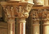 Monreale cloister — Stock Photo
