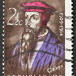 John Calvyn postage stamp - Stock Photo