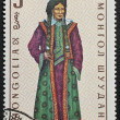 Mongolian postage stamp — Stock Photo #12227938