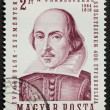 Shakespeare postage stamp — Stock Photo