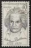 Beethoven znaczek — Zdjęcie stockowe