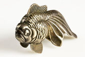 Silver fish miniature — Stock Photo
