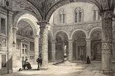 Hof van het oude paleis — Stockfoto