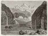 Jezioro steig Kandel — Zdjęcie stockowe