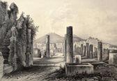 Pompeii forum — Stock Photo