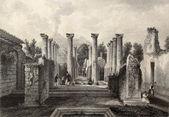 Pompeii roman house — Stock Photo