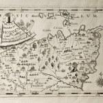 Messina Capuchins province map — Stock Photo #13290443