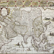 Asia old map — Stock Photo #13290782