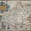 Dorset old map — Stock Photo #13290813
