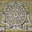Stock Photo: Palmanova old map
