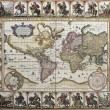 Stock Photo: World old map