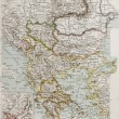 Balkan peninsula bis - Zdjcie stockowe