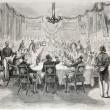 Banquet in Batavia - Stock Photo