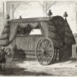 Stock Photo: Napoleon funeral carriage