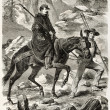 Stock Photo: Napoleon III ascent