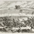 Stock Photo: Battle of Fredericksburg
