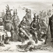 Stock Photo: Delaware Indians