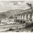 Pont-du-Gard - Foto Stock