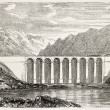 Theoule viaduct - Foto Stock