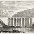 Theoule viaduct - Stock fotografie