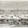 Stock Photo: Vincennes racecourse