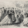 Stock Photo: Fashion 1868