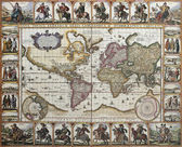 World old map — Stock Photo