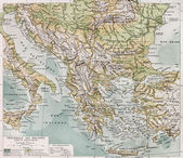 Balkan peninsula — Stock Photo