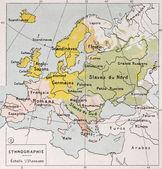 Europe ethnography — Stock Photo