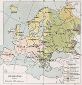 Europe religions — Stock Photo