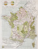 Frankreich-landwirtschaft — Stockfoto