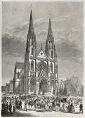 Basiliek van saint clotilde — Stockfoto