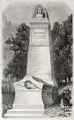 Pradier monument — Stock Photo