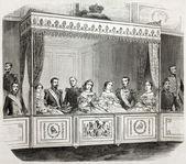 Royal box — Stock Photo