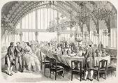 Brest Banquet — Stock Photo