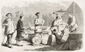 Chinese blacksmiths — Fotografia Stock