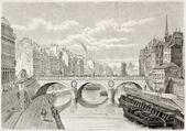 Pont Saint-Michel — Stock fotografie