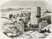 Serapeum of Saqqara — Stock Photo