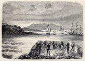 Aden anchorage — Stock Photo
